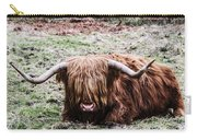 Hairy Cow Carry-all Pouch