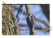 Hairy Woodpecker - Female Carry-all Pouch