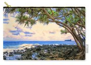 Hala Trees At Ka'anae Point Carry-all Pouch