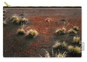 Haleakala - Red And Black Carry-all Pouch