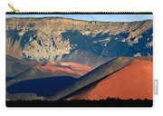 Haleakala Cinder Cones Lit From The Sunrise Within The Crater Carry-all Pouch