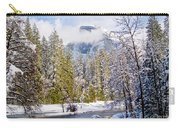 Half Dome And The Merced River Carry-all Pouch by Bill Gallagher