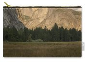 Half Dome And The Yosemite Valley Carry-all Pouch