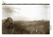 Half Dome From Glacier Point Yosemite Valley  California Circa 1910 Carry-all Pouch