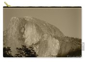 Half Dome Sepia Carry-all Pouch