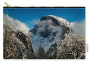 Half Dome Winter Carry-all Pouch by Bill Gallagher