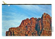 Half Moon Over Zion National Park-utah Carry-all Pouch