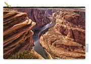 Half Of Horshoe Bend - Page Az Carry-all Pouch