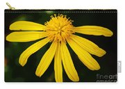 Half Yellow Carry-all Pouch