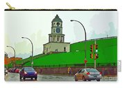 Halifax Historic Town Clock Graphic Carry-all Pouch
