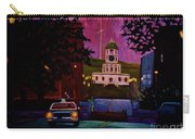 Halifax Night Patrol And Town Clock Carry-all Pouch