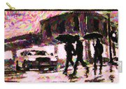 Halifax Nova Scotia On In The Rain Carry-all Pouch