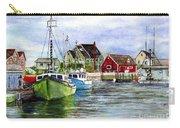 Peggys Cove Nova Scotia Watercolor Carry-all Pouch