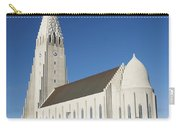 Hallgrimskirkja Church In Reykjavik Iceland Carry-all Pouch