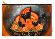 Halloween Black Cat Cupcake 1 Carry-all Pouch