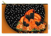 Halloween Black Cat Cupcake 2 Carry-all Pouch