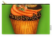 Halloween Cupcakes - Green Carry-all Pouch