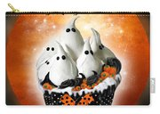 Halloween Ghost Cupcake 1 Carry-all Pouch