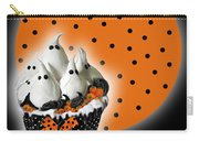 Halloween Ghost Cupcake 2 Carry-all Pouch