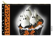 Halloween Ghost Cupcake 3 Carry-all Pouch