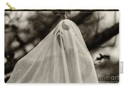 Halloween Goast Sepia Carry-all Pouch