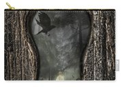 Halloween Keyhole Carry-all Pouch by Amanda Elwell