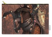 Halloween Knight Carry-all Pouch by Daniel Eskridge