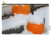 Halloween Snow Carry-all Pouch