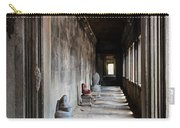 Hallway At Angkor Wat Carry-all Pouch