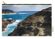 Halona Blowhole Lookout- Oahu Hawaii V2 Carry-all Pouch