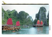 Halong Bay Sails 04 Carry-all Pouch