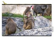 Hamadryas Baboon Carry-all Pouch