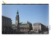 Hamburg - City Hall With Fleet - Germany Carry-all Pouch