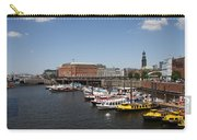 Hamburg Port With Fleet  Carry-all Pouch