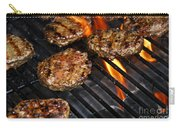 Hamburgers On Barbeque Carry-all Pouch