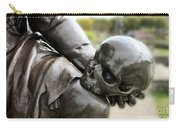 Hamlet Contemplating The Skull  Carry-all Pouch by Terri Waters