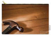 Hammer On Wood Carry-all Pouch
