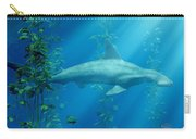 Hammerhead Among The Seaweed Carry-all Pouch