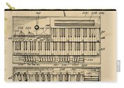 Hammond Organ Patent Carry-all Pouch