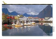 Hamnoy Fishing Village On Lofoten Islands Carry-all Pouch