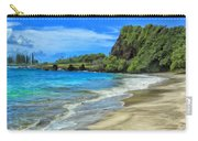 Hamoa Beach At Hana Maui Carry-all Pouch