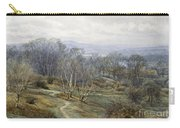 Hampstead Heath Looking Towards Harrow On The Hill Carry-all Pouch