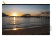Hanalei Bay Sunset Carry-all Pouch