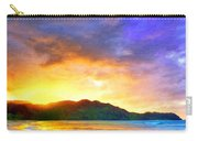 Hanalei Sunset Carry-all Pouch