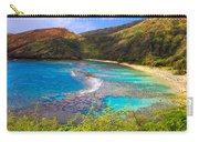 Hanauma Bay In Hawaii Carry-all Pouch