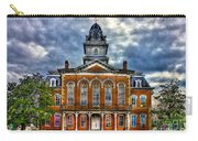 Before It Burned Hancock County Courthouse Art Carry-all Pouch