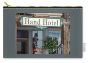 Hand Hotel Carry-all Pouch