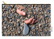 Hand In Gravel Carry-all Pouch by Stephan Pietzko