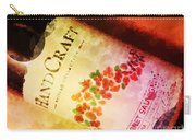 Handcraft Cabernet Sauvignon Carry-all Pouch by Mary Machare
