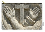 Hands And The Cross Carry-all Pouch